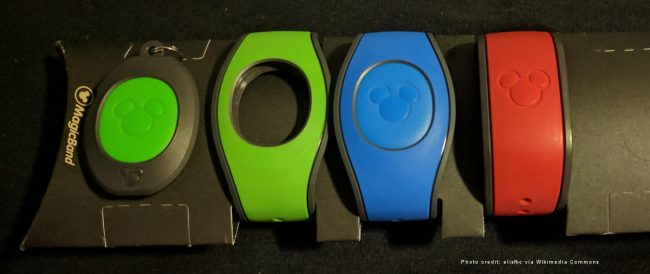 MagicBands. Photo credit: elisfkc via Wikimedia Commons