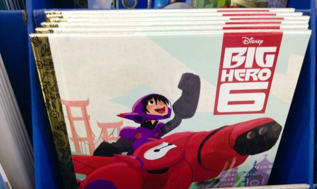 Big Hero 6 Little Golden Book, Walmart Floor Display 12/2014 by Mike Mozart of TheToyChannel and JeepersMedia on YouTube