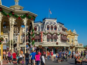 The town of Disney, Oklahoma.