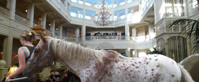 Original photo: Walt Disney Grand Floridian Resort Lobby by Michael Gray, via Flicker, Creative Commons Attribution-ShareAlike 2.0 (CC BY-SA 2.0); modified.