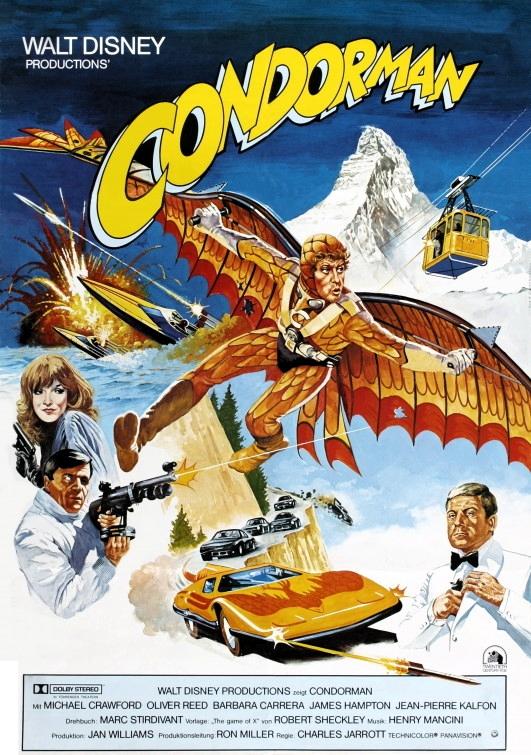Condorman (1981) poster