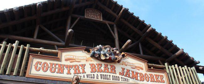 Country Bear Jamboree entrance, Magic Kingdom