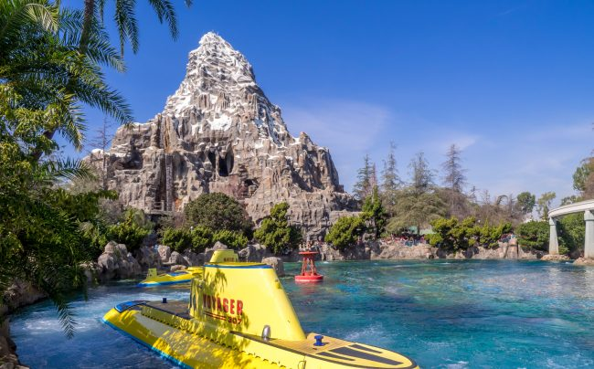 The Matterhorn at Disneyland Park, Anaheim CA