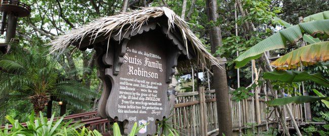 Swiss Family Treehouse at Magic Kingdom