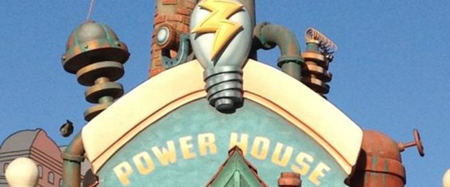 Toontown Power House at Disneyland Park, California.
