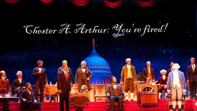 Hall of Presidents at Disney's Magic Kingdom Park.