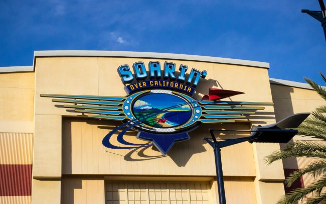 Soarin' Over California at Disney's California Adventure.
