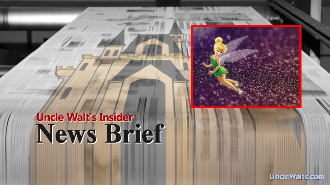 News Brief - Pixie Dust not to be taken internally.