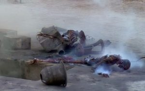 Luke's Uncle Owen and Aunt Beru.