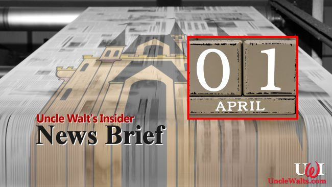 News Brief - April Fools