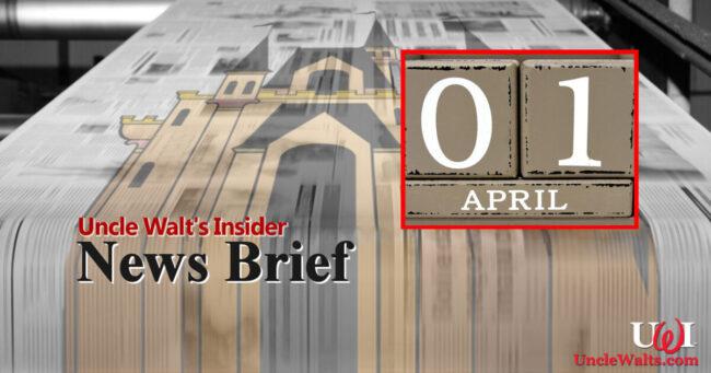 News Brief - April Fools