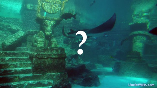 Atlantis at Epcot, or a rethemed attraction? Photo by Jerrye and Roy Klotz MD [CC BY-SA 3.0], via Wikimedia Commons