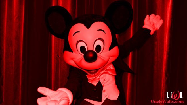 Don't worry. Mickey probably isn't Satan. Original photo via DepositPhotos.