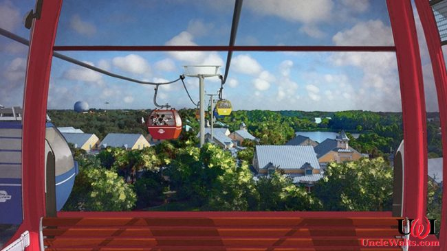 Disney Skyliner artist's conception. (c) 2017 Disney.