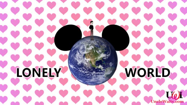 Lonely World -- tips for singles at theme parks.