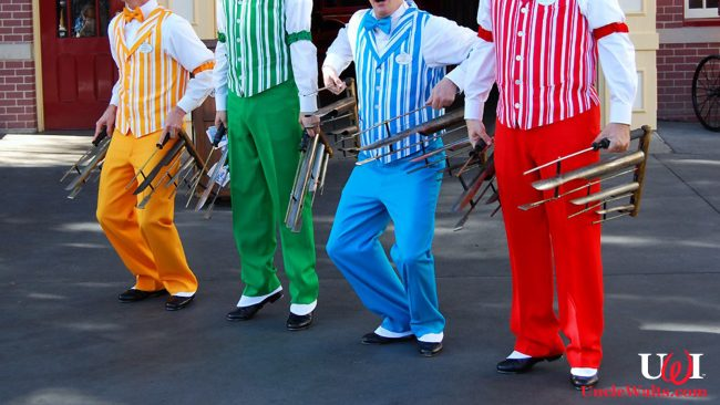 The mismatched socks of the Dapper Dans. Photo by Daniel Orth [CC BY-ND 2.0] via Flikr.