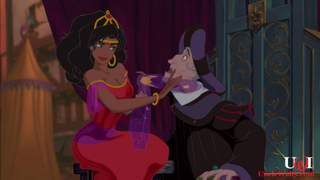 Artists rendering of Judge Frollo's Gypsy Cabaret. Photo © 1996 Disney, courtesy DisneyScreenShots.com.