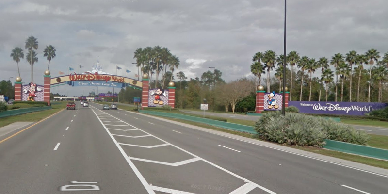 World Drive entrance. © 2018 Google / Street View