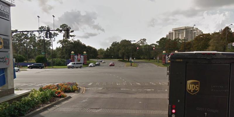 Hotel Plaza Blvd entrance. © 2018 Google / Street View