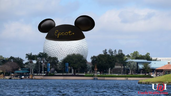 Photo of Epcot's new mouse ears. Via Depositphotos.