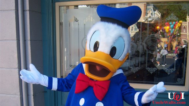 Accused perp Donald Duck. Photo by Loren Javier [CC BY-ND 2.0] via Flickr.