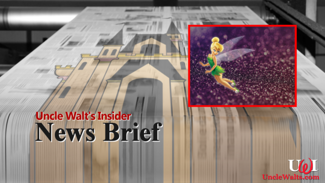 UWI News Brief - Tinker Bell and Pixie Dust.