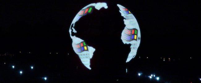 Illuminations: Windows on the World. Photo by I, Fredhsu [CC-BY-SA-3.0] via Wikimedia Commons & Abel Cheung [CC BY-SA 2.0] via Flickr.
