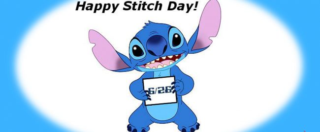 Happy 6/26 - International Stitch Day!