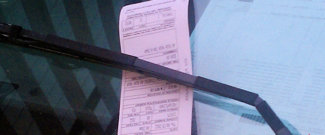 Parking ticket on the Millenium Falcon's windshield? Photo by Tim1965 [CC BY-SA 3.0] via Wikimedia Commons.