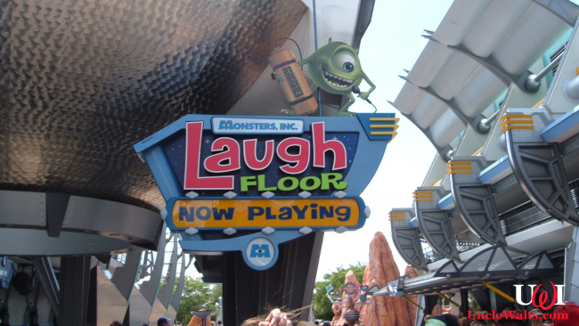 Monsters Inc. Laugh Floor at the Magic Kingdom Park. Photo by Michael Gray [CC BY-SA 2.0] via Flickr.