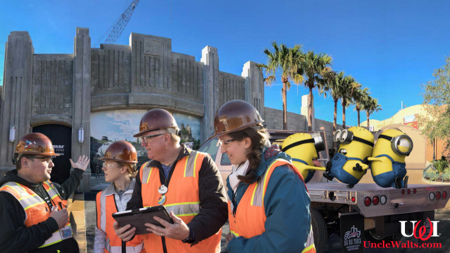 Animatronic Minions arrive at Star Wars: Galaxy's Edge. Yeah, we're done.