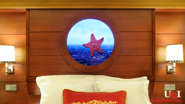 Not-So-Magical Porthole aboard the Disney Dreamship. Photo © 2012 Disney, if you can still believe anything they say.