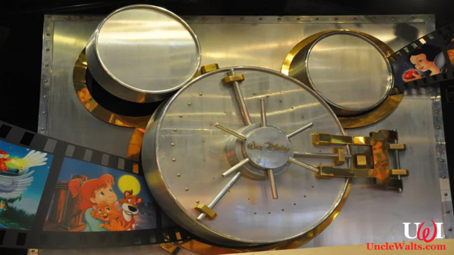 Photo of Vault Disney courtesy of Disney, duh.