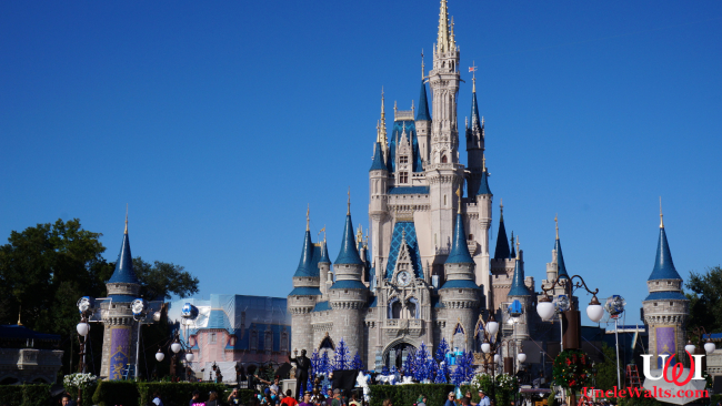 Cinderella Castle (inflatable) at Walt Disney World's Magic Kingdom Park. Public domain, via Pixabay.