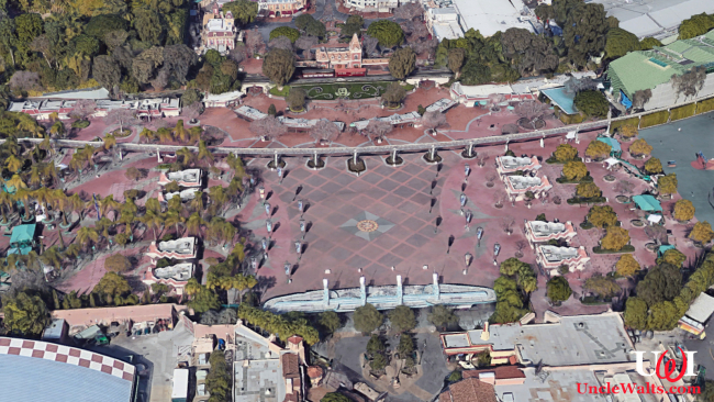 Third Disneyland park location. Photo © 2018 Google Street View.
