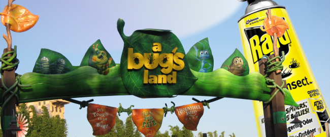 Disney exterminates A Bug's Land.