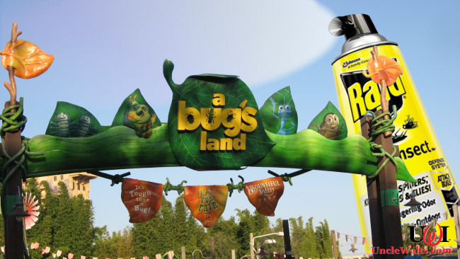 Disney exterminates A Bug's Land.