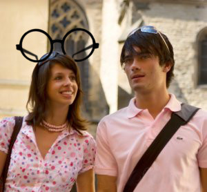 Harry Potter Eyeglass Mouse Ears.