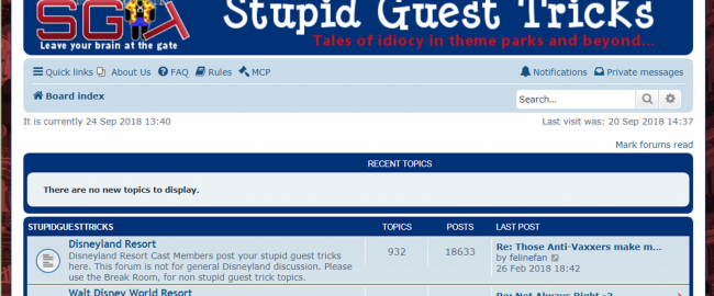 StupidGuestTricks.com, now a wholly-owned subsidiary of Uncle Walt's Insider.