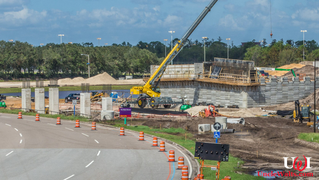 "WDW ""return routing"" construction. Photo courtesy blogmickey.com."