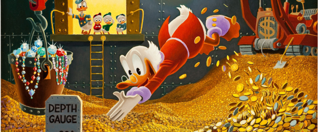 The world's 5th richest man, er, duck. Photo © Walt Disney Productions.