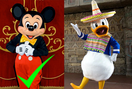 We endorse incumbent Mickey Mouse over Donald Duck.