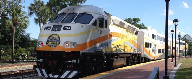SunRail - still not popular! Photo by Artystyk386 [CC BY-SA 3.0] via Wikimedia Commons.