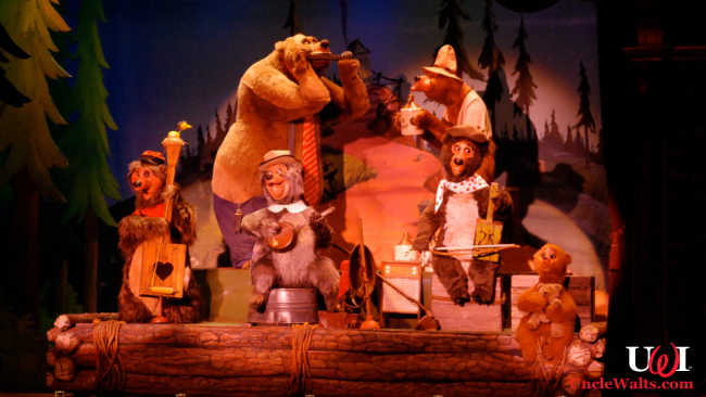 The Country Bear Band, now with earworms. Photo by Josh Hallett [CC BY 2.0] via Flickr.