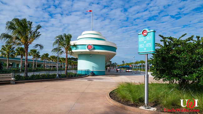 Hollywood Studios adds thousands of bus stops. Photo ©2019 Disney Tourist Blog, used with permission; modified.