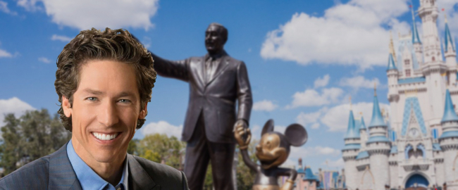 Joel Osteen visits Walt Disney World. Photo by Practical Online Marketing & Pixabay.