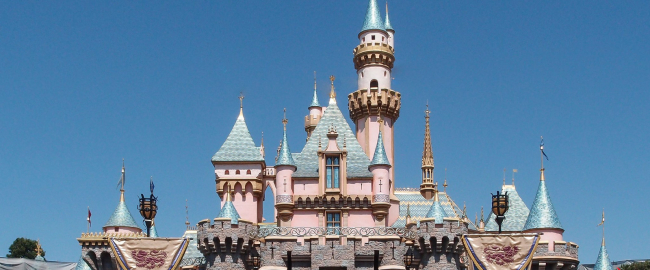 "Sleeping Beauty Castle, after non-existent ""refurbishment."" Photo by Tuxyso / Wikimedia Commons."