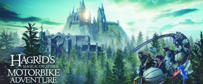 Extremely deceptive concept art of the new Hagrid ride. Photo courtesy Universal Orlando.