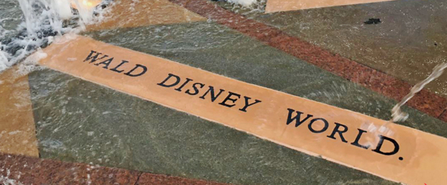 The true spelling of Wald Disney's name. Photo by baynews9.com, via @NewsGuyGreg on Twitter.