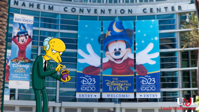 Mr. Burns will be named a Disney Legend at this year's D23. Photo by Mooshuu [CC BY-SA 2.0] via Flickr, & the Disney branch of the Fox Corporation.